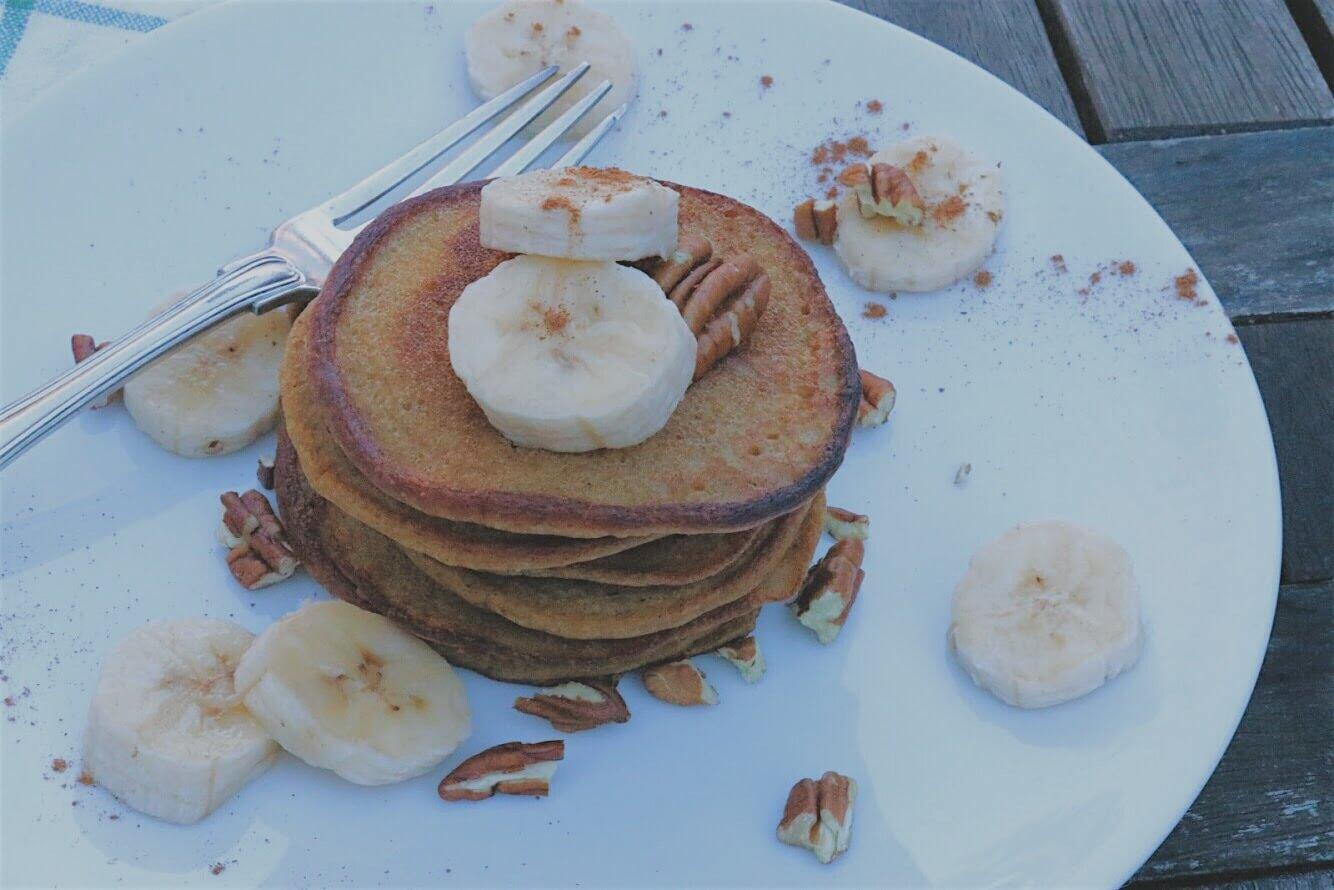 Grain-Free Pumpkin Pancakes by Chartered Wellness