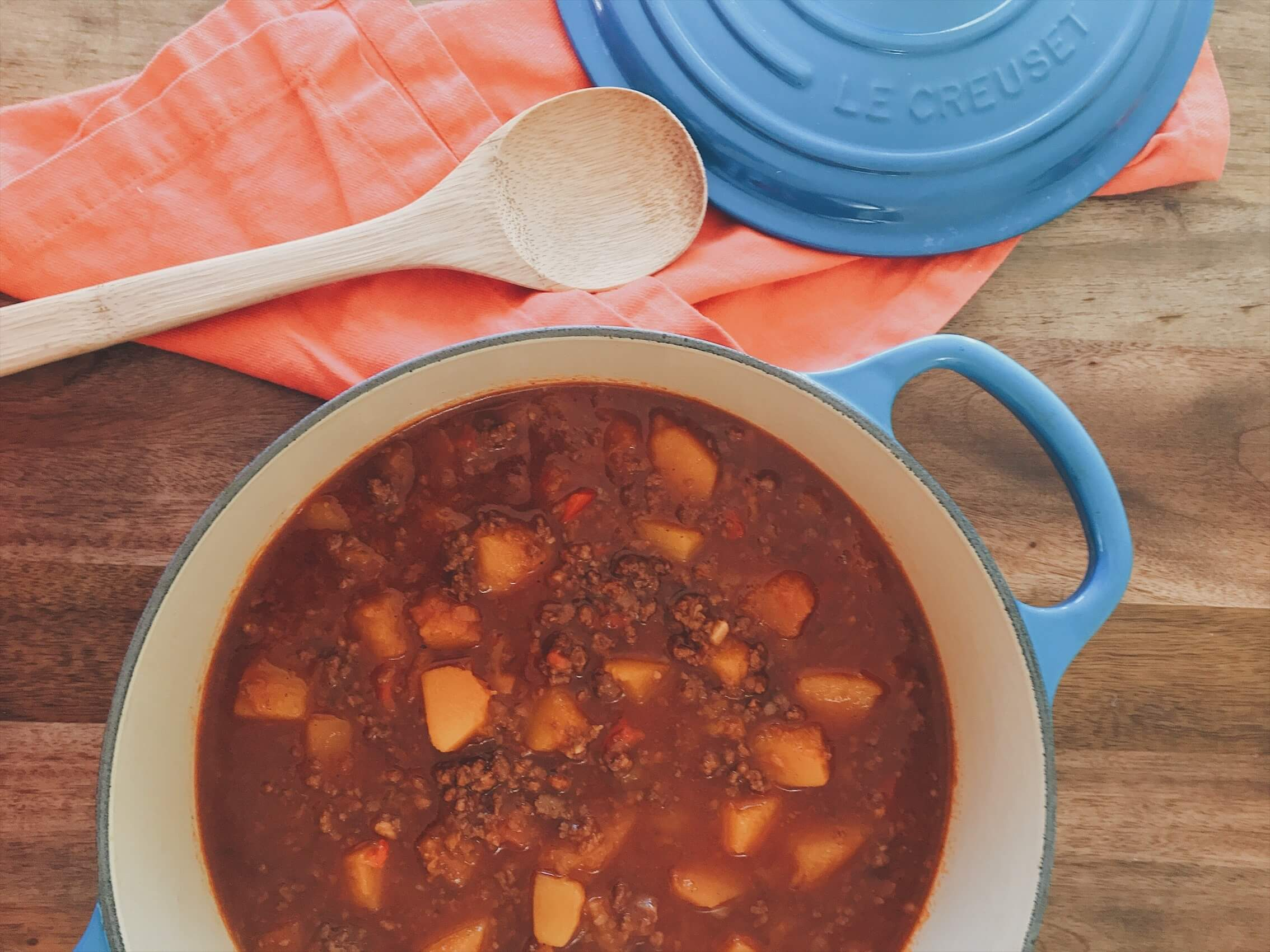 Instant Pot Butternut Squash Chili by Chartered Wellness