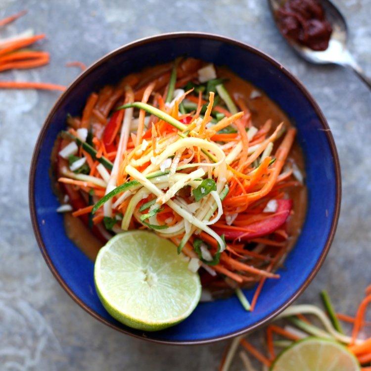 Coconut-Lemongrass-Raw-Veggie-Salad