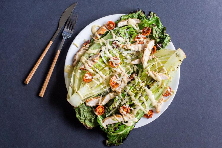 Grilled-Romaine-Salad